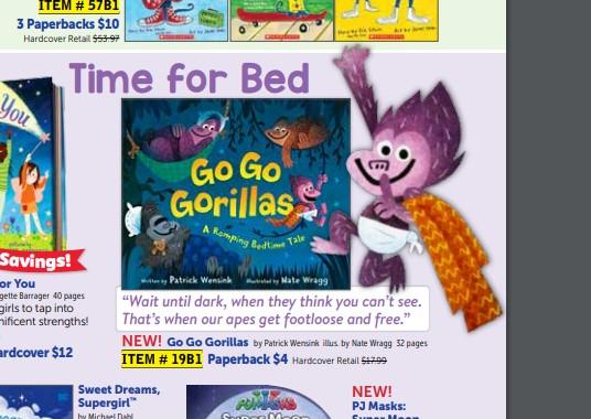 scholastic gorillas